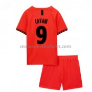 Paris Saint Germain PSG Voetbaltenue Kind 2019-20 Edinson Cavani 9 Uitshirt..